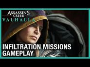 Assassin's Creed Valhalla - The Siege of Paris Gameplay and Infiltration Missions - Ubisoft -NA-
