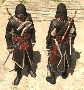 ACIV Tenue de capitaine pirate