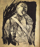 Blackbeard's Journal sketch of Benjamin Hornigold