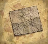 ACU Meurtre prédit Feuille de papier froissée