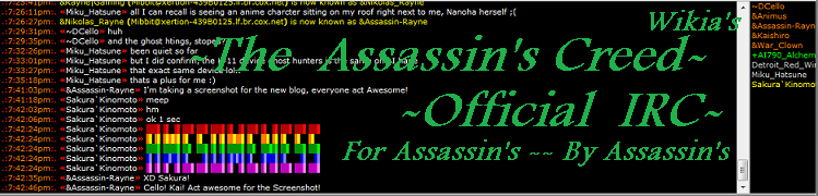 99998888833344/Official Assassin's Creed Wikia IRC Network Update!