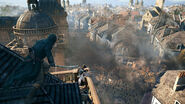ACU Arno toit palais du Luxembourg soldats kill