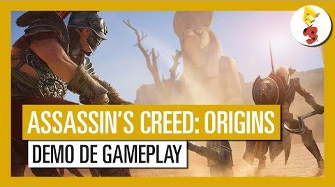 Assassin's Creed Origins - Démo de Gameplay E3 2017 OFFICIEL VF HD