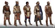 ACV - Iroquois men concept