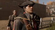 AC3 The Surgeon - Haytham and Charles outside Benjamin's residence