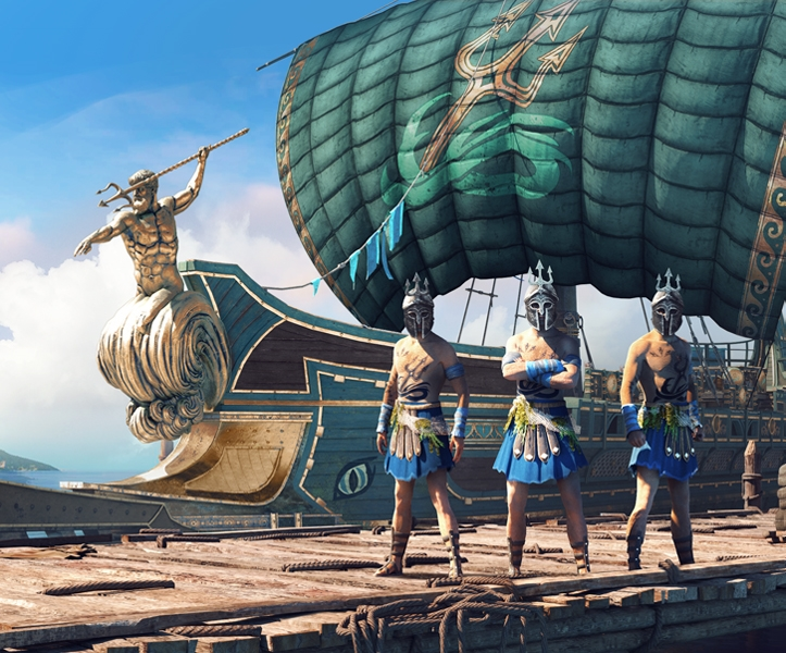 Poseidon Naval Pack