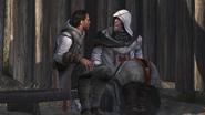 Darim parlant avec son père