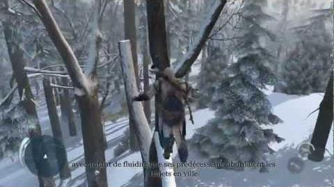 Assassin's Creed 3 - Démo de gameplay Frontier FR