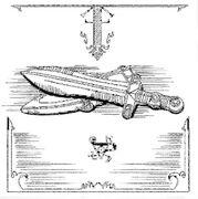 Dagger of Brutus sketch