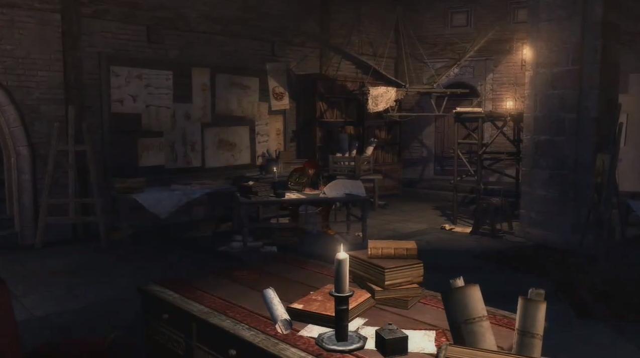 莱昂纳多的工作室