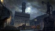 ACID Palazzo della Signoria Night Concept