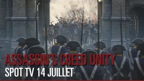 Assassin's Creed Unity - Spot TV 14 Juillet