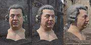 King Louis - Head Renders