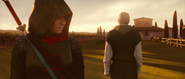 Shao Jun lascia villa Ezio