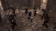 Adeptes de romulus combat