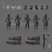 ACBV Crow Leader Concept Art