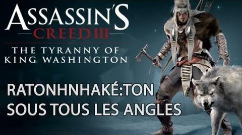 Assassin's Creed 3 - La Tyrannie du Roi Washington - Ratonhnhaké ton à 360° FR