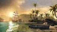 ACIV Jackdaw Caraibes Barque