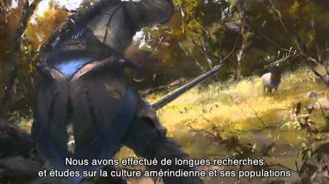 Dans les coulisses d'Assassin's Creed III - 1er Épisode FR