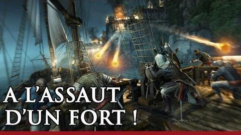 A l'assaut d'un fort! Démo de gameplay Assassin's Creed 4 Black Flag FR - OFFICIEL