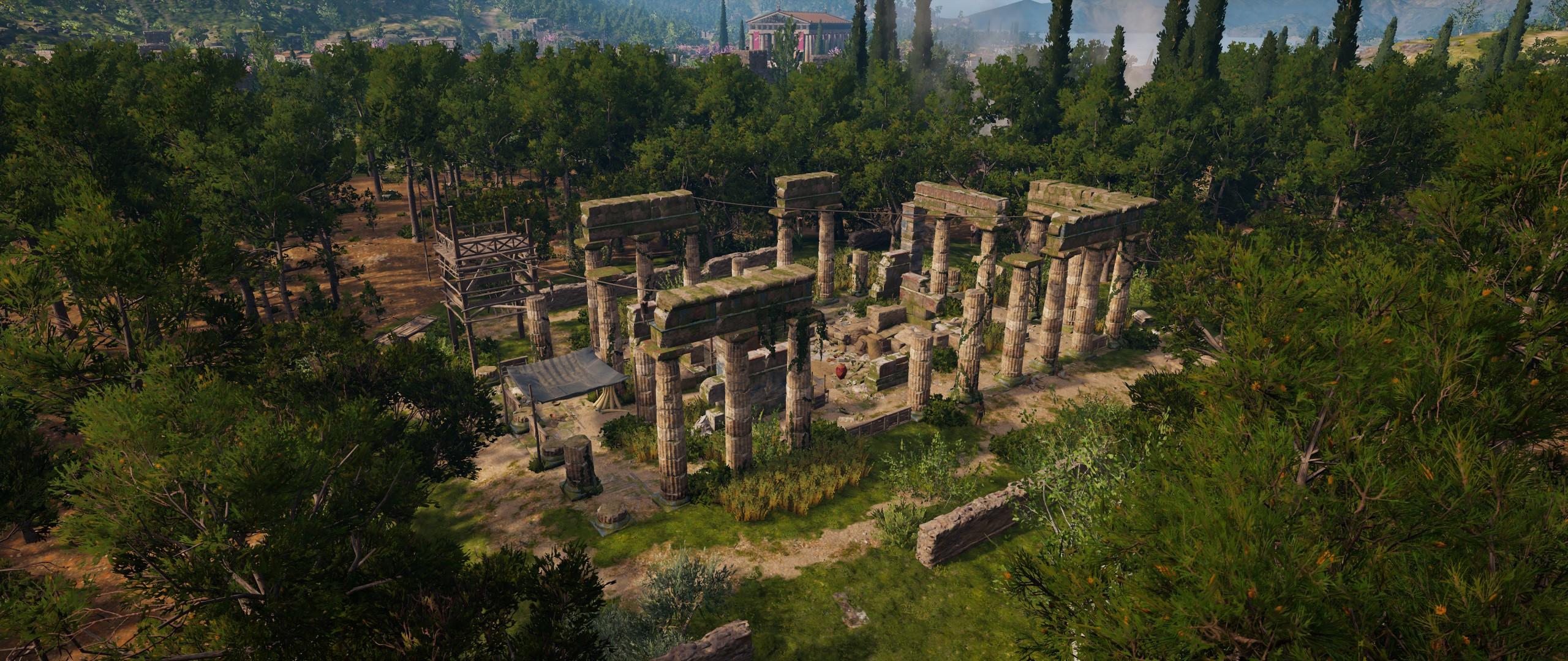 Ruined Temple of Zeus