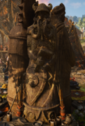 ACV Thor statue