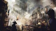 ACUnity soldati strade di Parigi