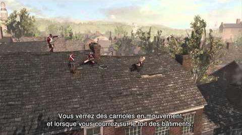 Dans les coulisses d'Assassin's Creed III - 4ème Episode FR