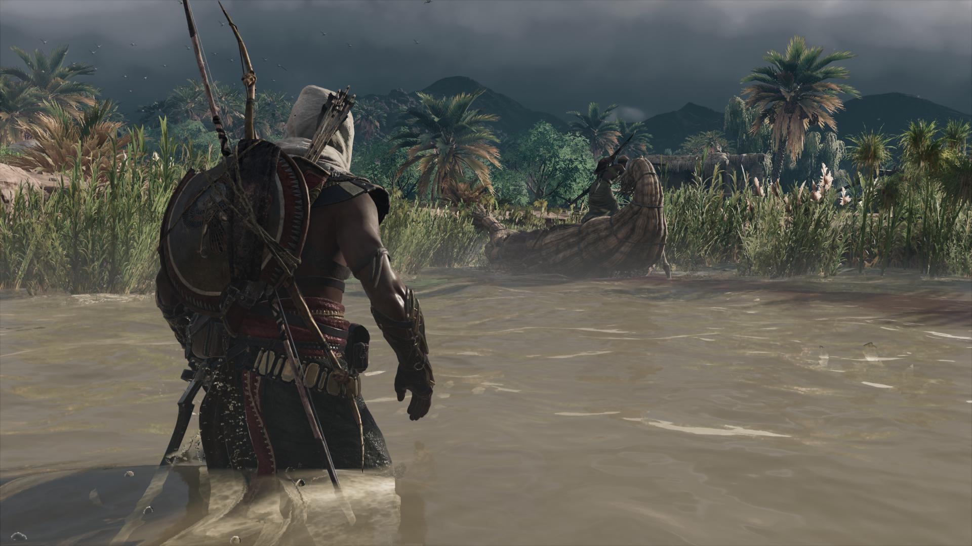Du sang dans l'eau (Origins)