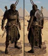ACO Black Hood outfit