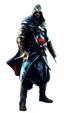 Ezio standing