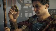 ACO Pompeius Magnus - Pompey observing coin