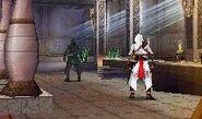 Altaïr affronta il Maestro della Torre