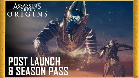 Assassin's Creed Origins Post Launch & Season Pass Trailer Ubisoft US