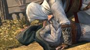 Altaïr nad ciałem Marii (by Kubar906)