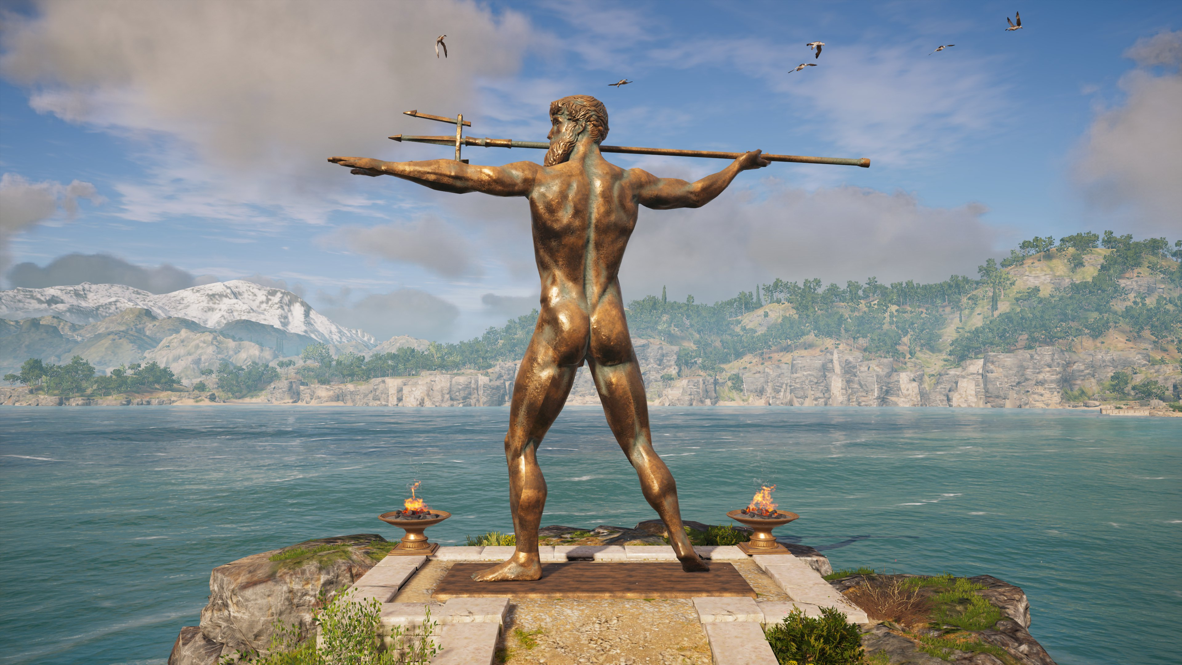 Statue of Poseidon, Korinthia