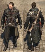 ACRG Dark Assassin outfit