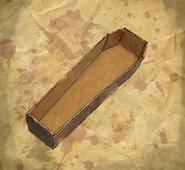 ACU Cercueil à demi enterré