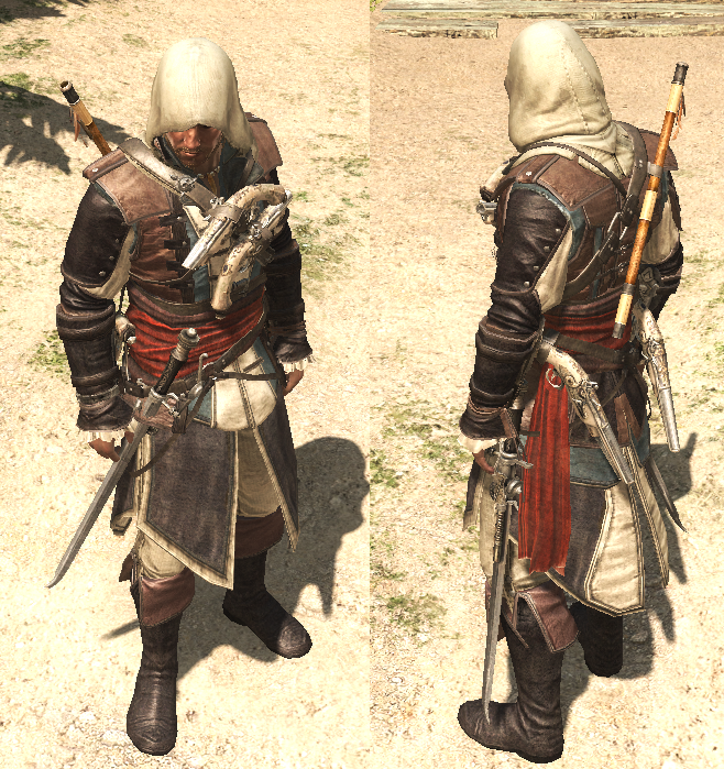 Tenues d'Assassin's Creed IV: Black Flag