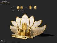 ACO Nefertiti Throne Model - Erin Abeo