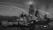 DTAE Alexandria ship attack sketch