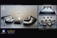 ACIV Abstergo Entertainment Lounge concept