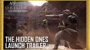 Assassin's Creed Origins The Hidden Ones DLC - Story Expansion Launch Trailer Ubisoft NA