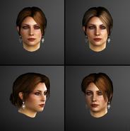 Modelli facciali Caterina Sforza by Michel Thibault