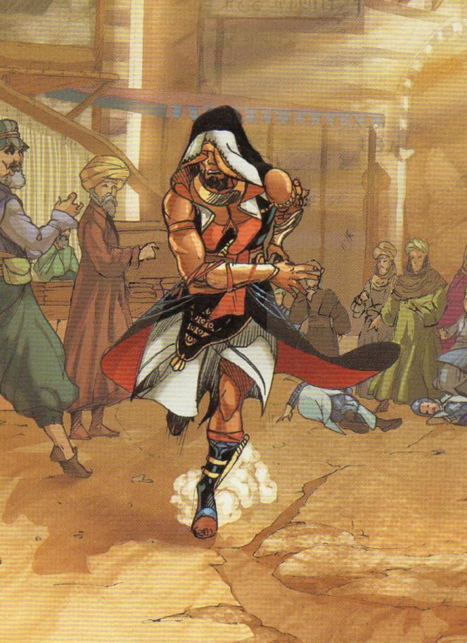Assassin égyptien (1250)