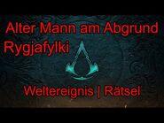 Alter Mann am Abgrund - Rygjafylki - Weltereignis - Rätsel - Assassin's Creed Valhalla W012