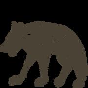 ACV - Hunter's Hut Drawing - Black Shuck