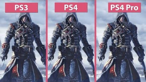 -4K- Assassin's Creed Rogue – Original PS3 vs