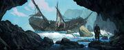 AC4BF Shipwreck - Concept Art