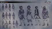 ACC India Afghan Warrior Concept Sketches